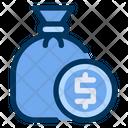 Money Sack Coin Icon