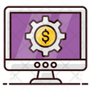 Financial Management Business Management Money Management Icon