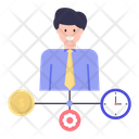 Financial Manager Finance Management Fund Manager Icon
