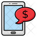 Financial Message Icon