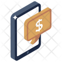 Financial Message Mobile Payment Mobile Finance Icon