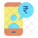 Financial Mobile Chat Icon