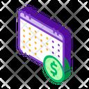 Financial Coin Dollar Icon