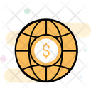 Grid Globe Financial Network Business Network Icon