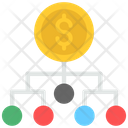 Financial Network Finance Money Icon