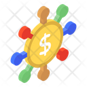 Financial Network Icon