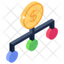 Financial Network Money Network Banking Network Icon