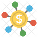 Financial Network Exchange Icon
