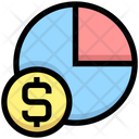Dollar Pie Chart Dollar Chart Icon