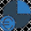 Euro Pie Chart Euro Chart Icon