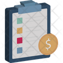 Business Financial Plan Growth Icon
