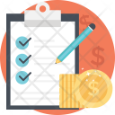 Financial Plan Business Icon