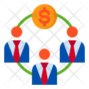 Investment Money Business Icon