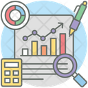Financial Planning Business Planning Business Report Icon