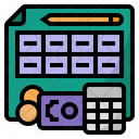 Financial Planning Financial Plan Icon