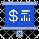 Presentation Business Graph Icon