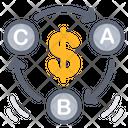 Financial process Icon