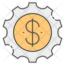 Financial Productivity Business Productivity Business Efficiency Icon