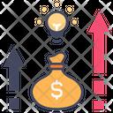 Financial Profit Idea Icon