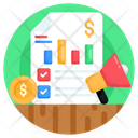 Business Promotion Business Marketing Financial Promotion Icon