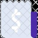 Financial Receipt Icon