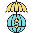 Financial Reinsurance Financial Globalinsurance Icon