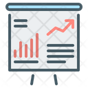 Financial Report Flip Chart Chart Icon