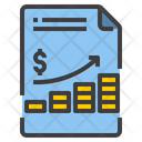 File Chart Business Growth Up Graph Moey Growth Icon