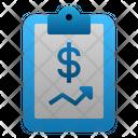 Financial Report Icon