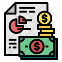 Money File Report Icon