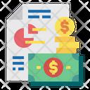 Money File Report Icon