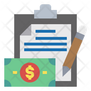 Financial Report Icon