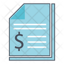 Financial Report Business Report Business Icon