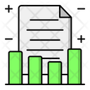 Balance Sheet Business Report Financial Report Icon