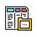 Financial Report Folder Icon