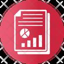 Finance Financial Report Graph Icon