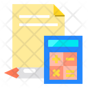 Accounting Calculator Office Icon