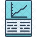 Financial Report Financial Report Icon