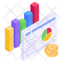 Financial File Business Report Financial Report Icon