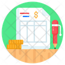 Business Document Financial Document Financial Report Icon