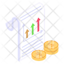 Financial Report Financial Document Financial Analysis Icon