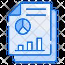 Financial Report Finance Report Icon