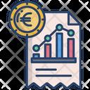 Financial Report Profite Report Report Icon