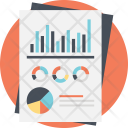 Statistic Report Financial Icon