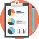 Financial Report Accounting Icon