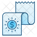 Financial Report Earning Icon