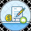 Business File Market Report Productivity Report Icon