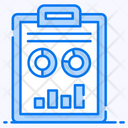 Financial Reporting Business File Corporate Document Icon