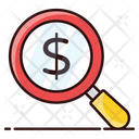 Financial Research Corporate Investigation Business Search Icon