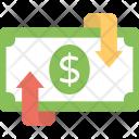 Finance Return Refund Icon